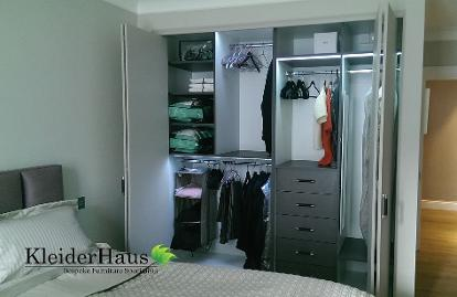 Fitted bifold wardrobes london