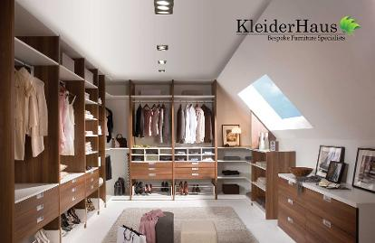 fitted walk in wardrobes london