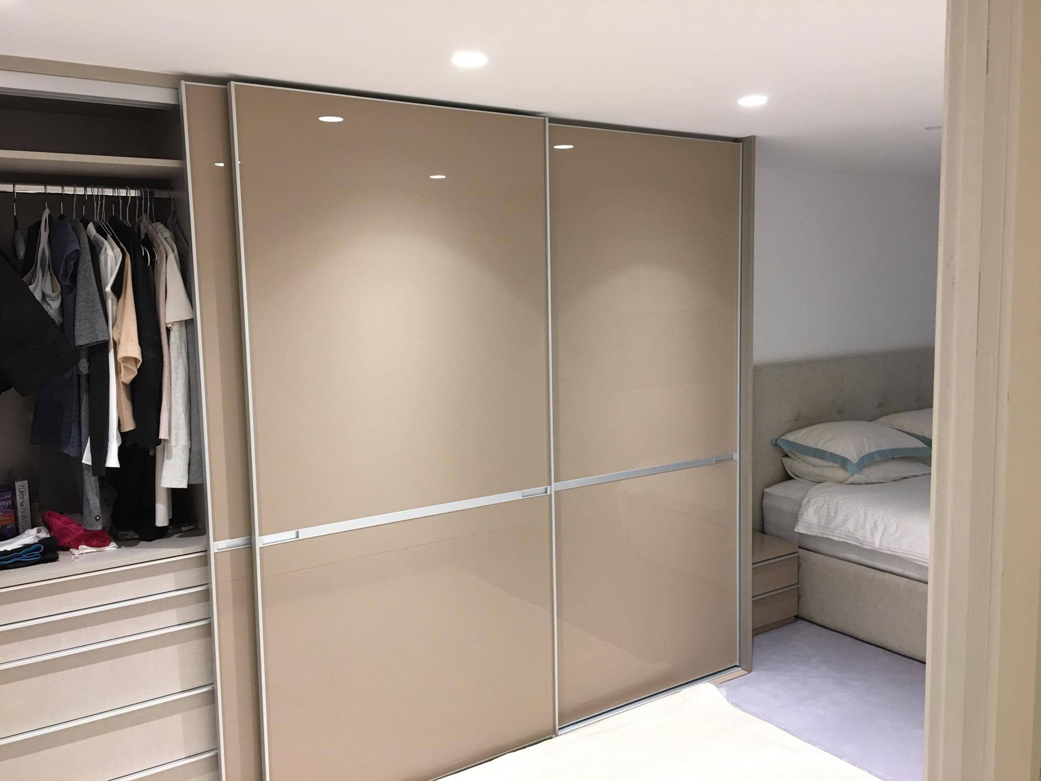 made to measure sliding door wardrobe