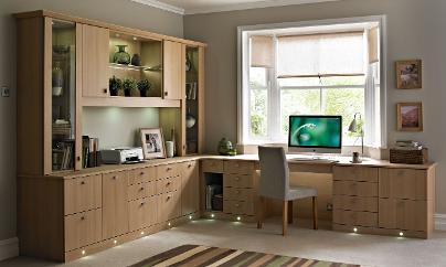 Delightful FITTED HOME OFFICE FURNITURE